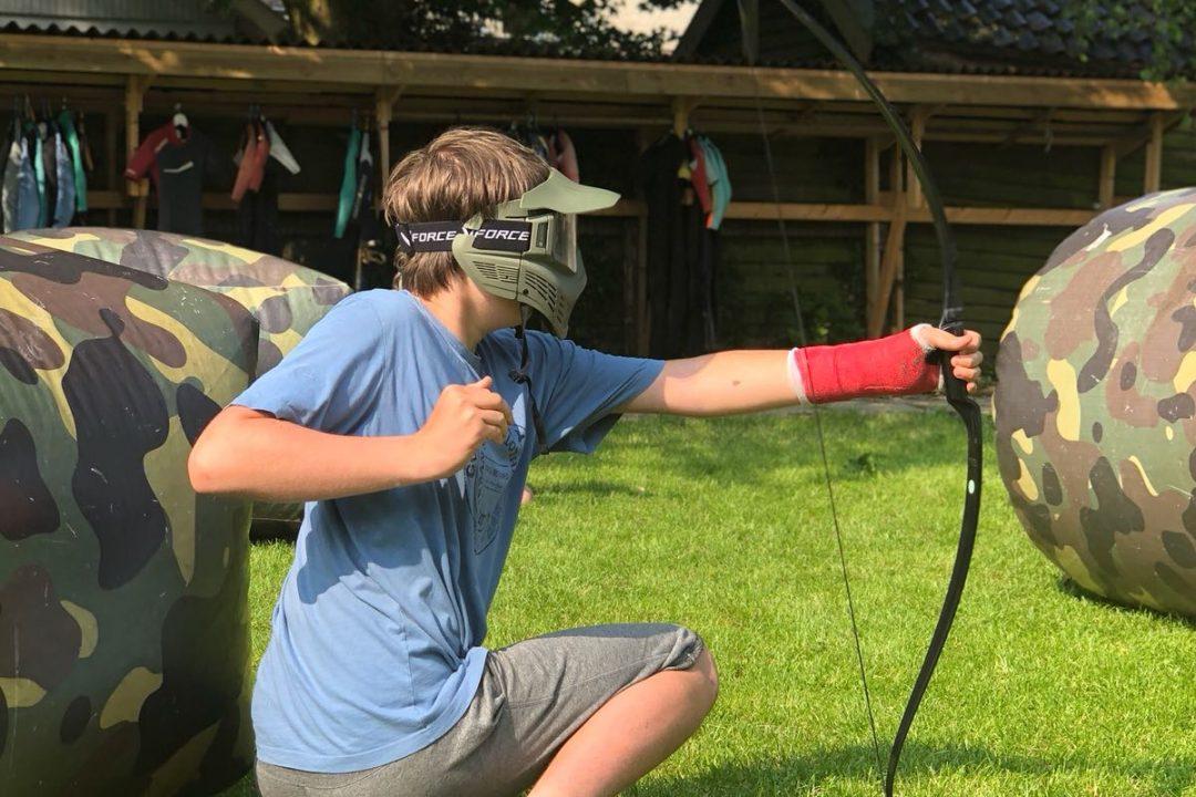 Archery tag op 't Stekelbaarsje