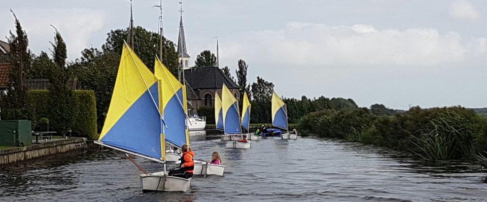 Kortingen voor een zeilweek in Friesland
