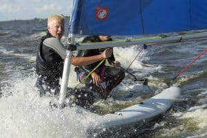 Zeilplezier watersport schoolkamp