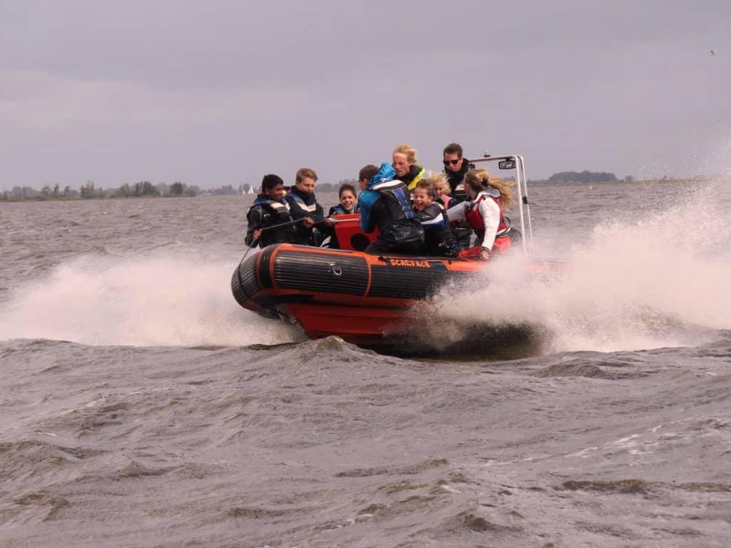 Adrenaline kick tijdens het leukste bedrijfsuitje in friesland