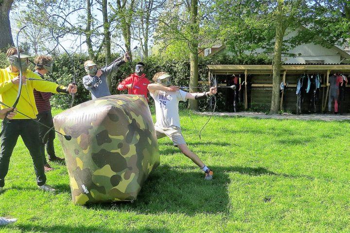 Het bedrijfsuitje in Friesland met Archery Tag