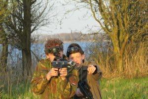 Lasergame in Friesland