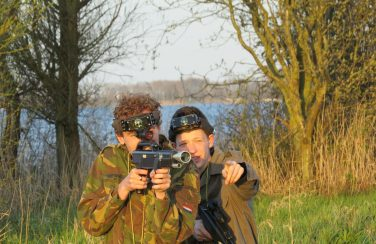 Lasergame in Friesland