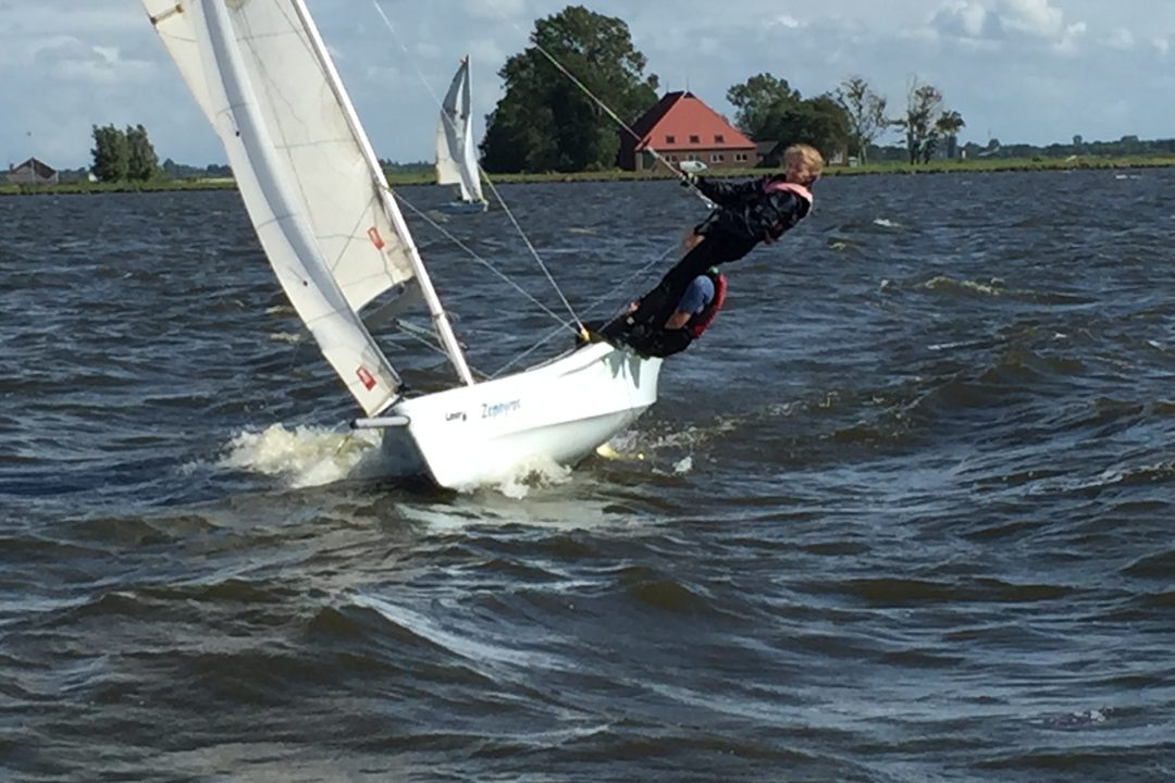 Zeilkamp laser Vago in Friesland