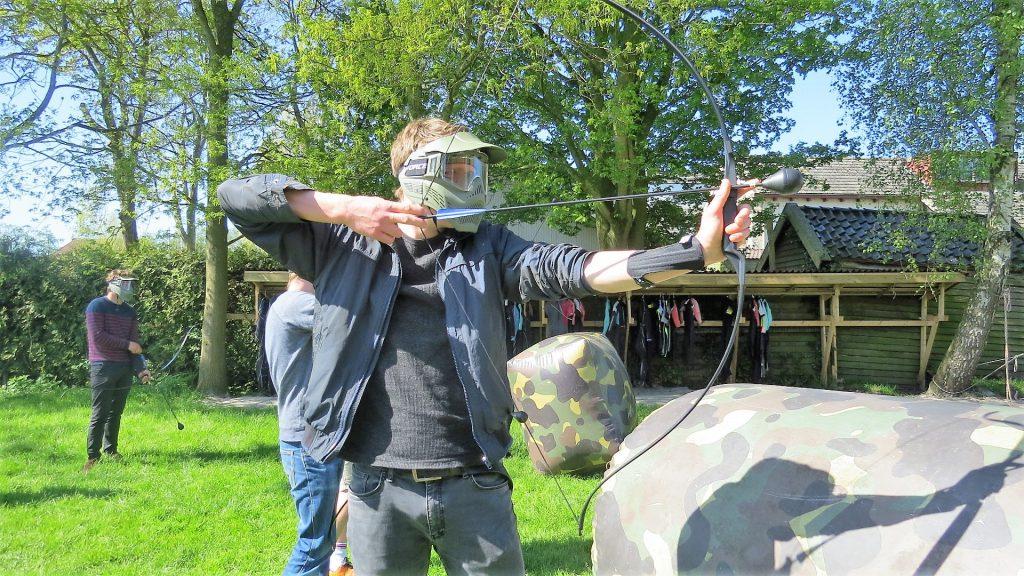 Archery Tag Bedrijfsuitje