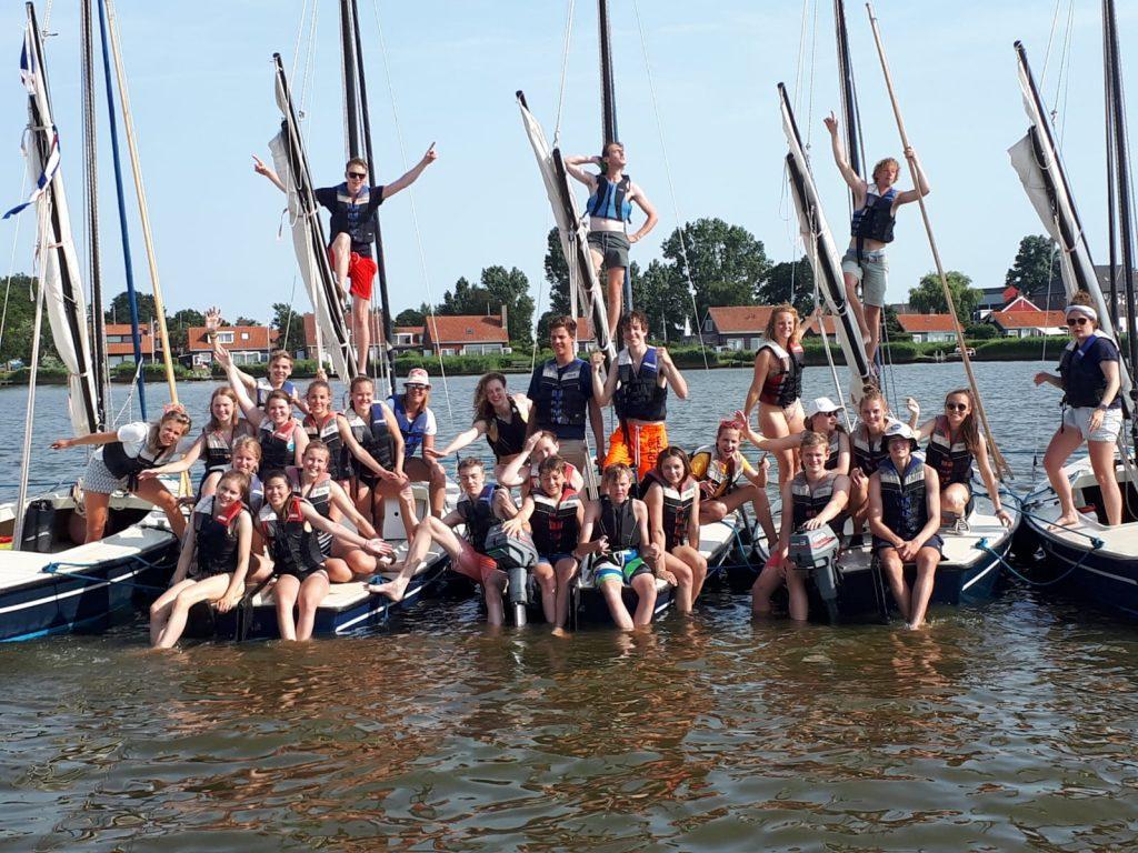 Valk zeilen Friesland