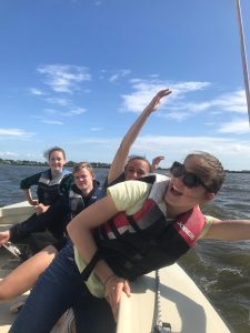 vrienden zeilkamp Friesland